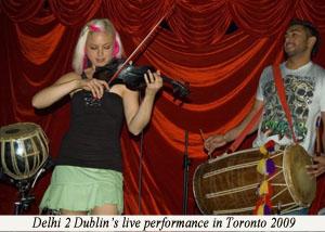 Delhi2Dublin Toronto 2009 with caption