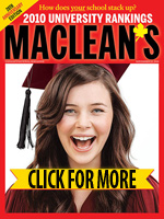 2010 University Rankings
