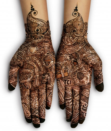 new indo cool the girl with the henna tattoo over chai. Black Bedroom Furniture Sets. Home Design Ideas
