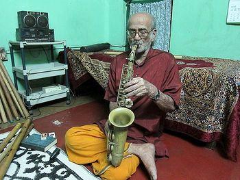 Deboda Playing Sax