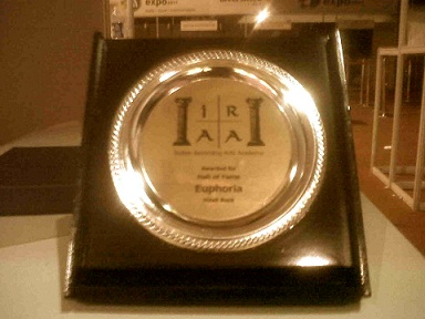Euphoria- Indian Rock Hall of Fame Trophy