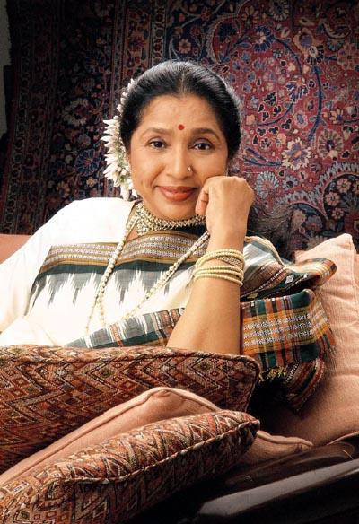 Asha Bhosle 2