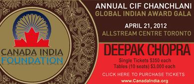 Canada India Foundation Awards Gala