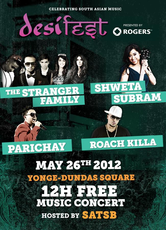 desiFEST - May 26, 2012 at Yonge and Dundas Square