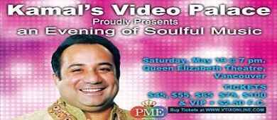 Rahat LIVE in Concert May 19