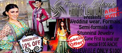 Pre-Ramzan Exhibition by F&M Couture