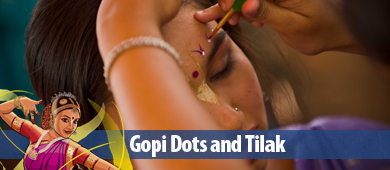 Festival of India 2012 Gopi Dots and Tilak