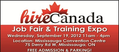 Hire Canada's Job Fair and Training Expo