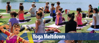 Festival of India 2012 Yoga Meltdown