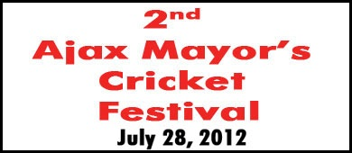 Ajax Mayor's Cricket Festival