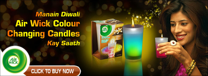 Air Wick Colour Changing Candles