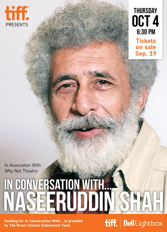 In Conversation With...Naseeruddin Shah Oct. 4, 2012
