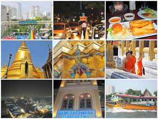 Bangkok Collage