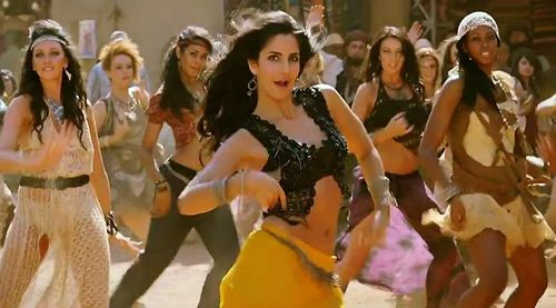 Katrina Kaif in Mashallah from Ek Tha Tiger