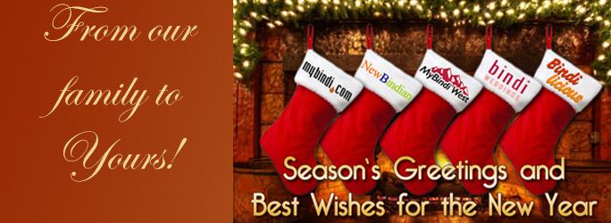 Season's Greetings from MyBindi.com