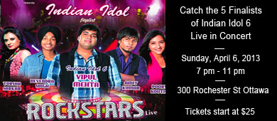 Rockstar Indian Idol Ottawa