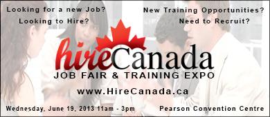 Hire Canada Job Fair June 2013