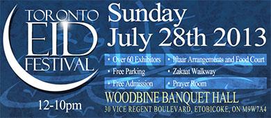 Toronto Eid Festival 2013