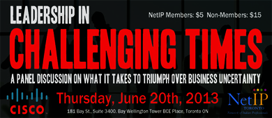 NetIP Leadership in Challenging Times