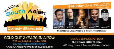 South Asian Comedy Showcase 2013