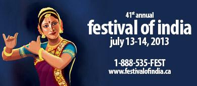 Festival of India 2013