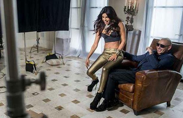 Priyanka & pitbull