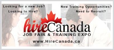 Hire Canada Job Fair September 2013