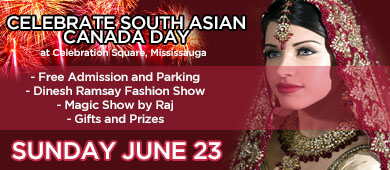 South Asian Canada Day 2013