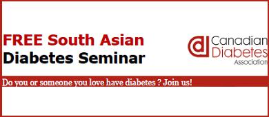 CDA Free Diabetes Seminar October 2013