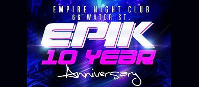 Epik 10 Years MBW