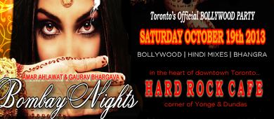 Bombay Nights October 2013