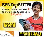 Western Union #sendforbetter campaign