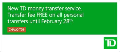 TD Visa Money Tranfer