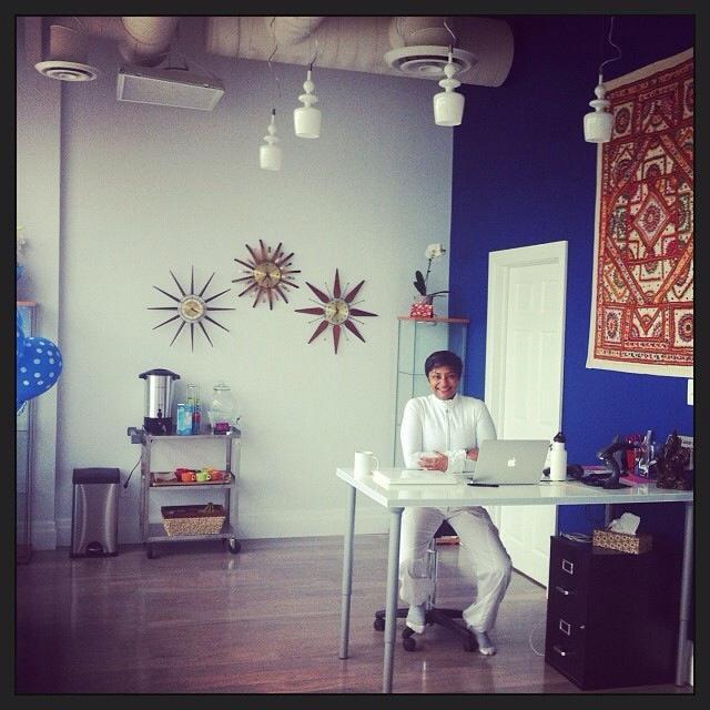 Salimah at YogaVision