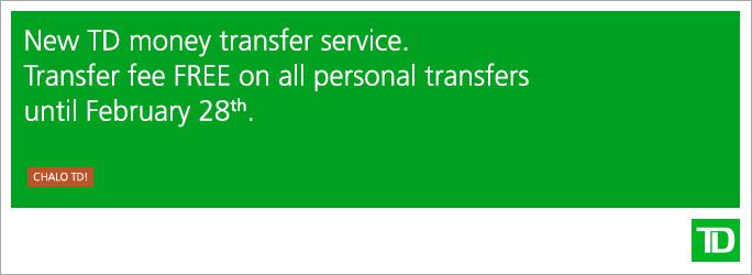TD Visa Money Transfer