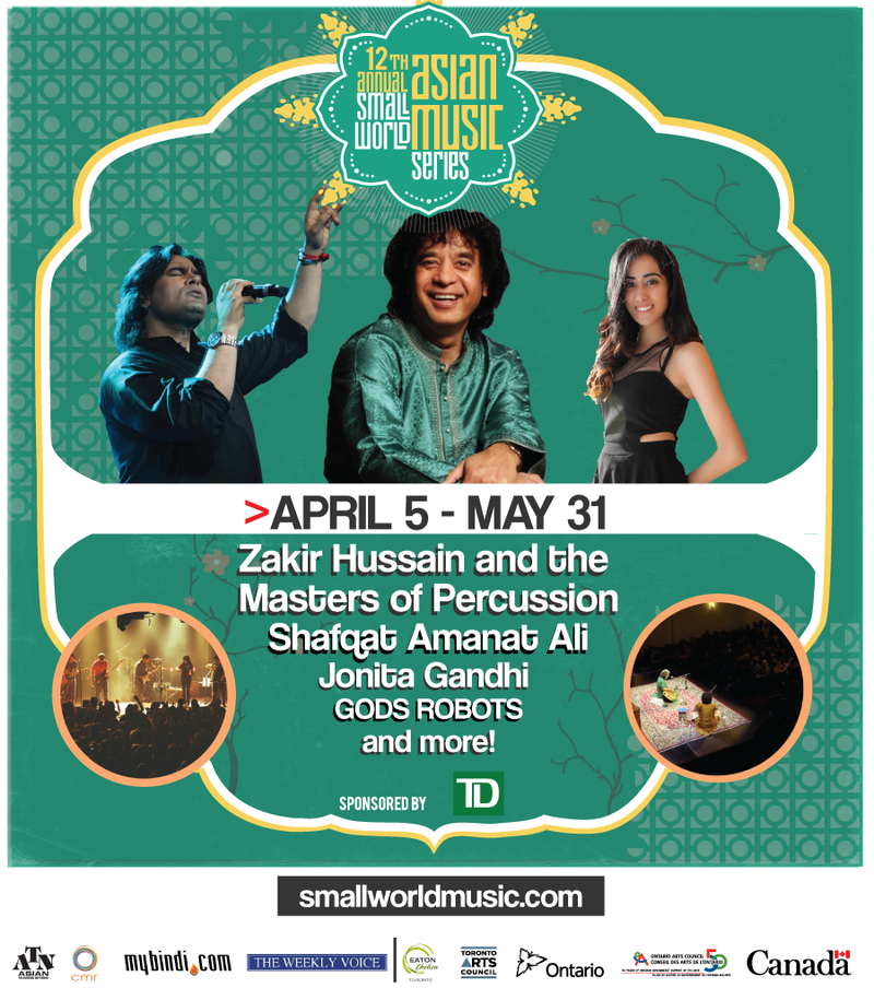 Zakir Hussain & The Masters of Percussion