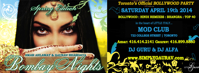Bombay Nights: Spring Edition